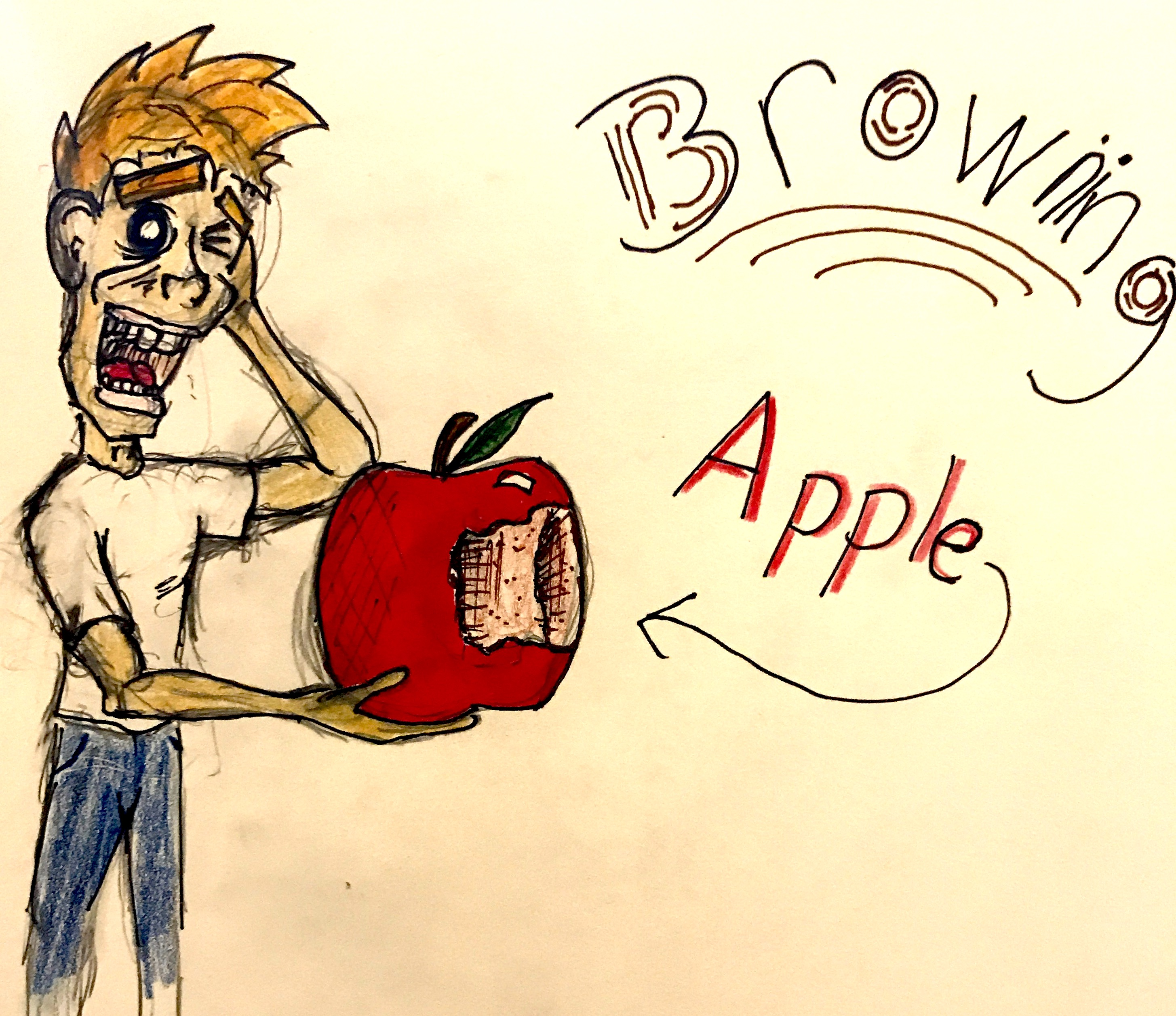Browning Apple